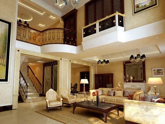 豪华欧式客厅