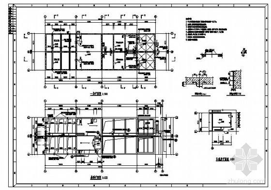 uasb池废水处理资料下载-某碳酸饮料公司废水处理设计施工图