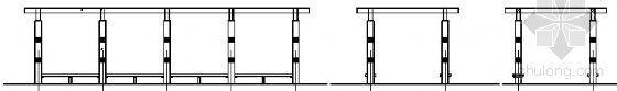 混凝土仿木花架详图