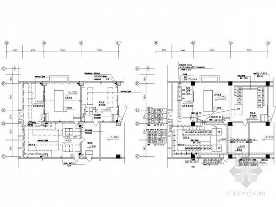 大型医院综合楼全套电气施工图纸(含完整二次控制原理图)