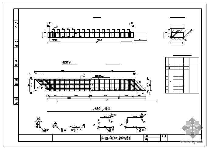 大竹县某桥加宽设计图