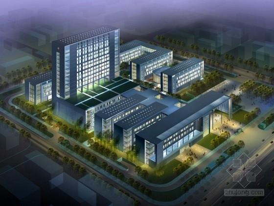 [深圳]某中医院规划及单体设计方案文本