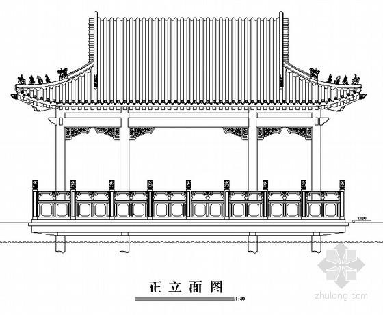 水榭设计方案施工图