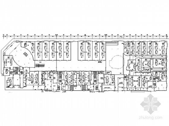 [湖北]多层商场暖通空调系统设计施工图