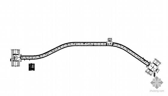 湖南某道路绿化设计图