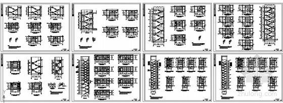 某住宅小区楼梯结构节点构造详图