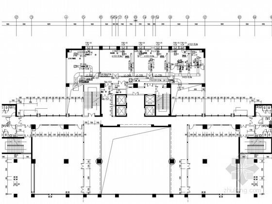 [海南]实验室通风及净化空调系统设计施工图(全室排风系统)