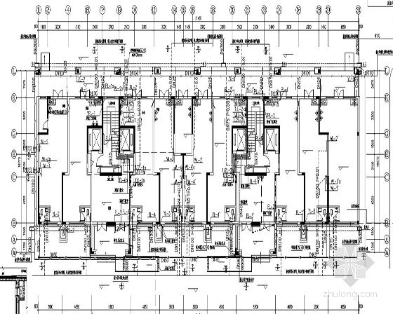 [湖南]15万平米高层住宅小区建筑给排水施工图纸