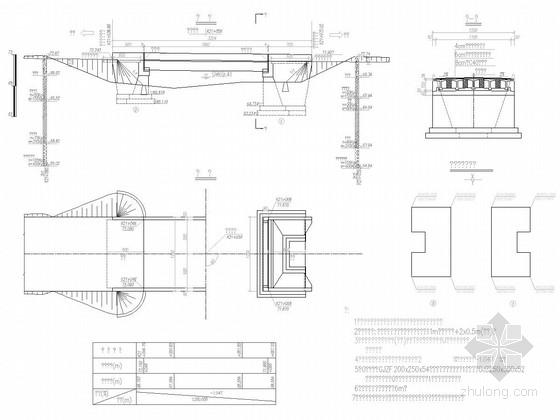 U型桥台扩大基础技术交底资料下载-[安徽]1x20米后张预应力简支T梁桥初步设计图30张(扩大基础)