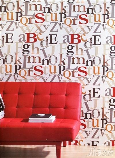 客厅背景墙也爱耍大牌你家客厅hold住吗?-字母背景墙足够国际化,充满了国际范,这样的背景还不够大牌吗?如此时尚的背景墙搭配任何颜色的家居都能彰显出家居的时尚感。