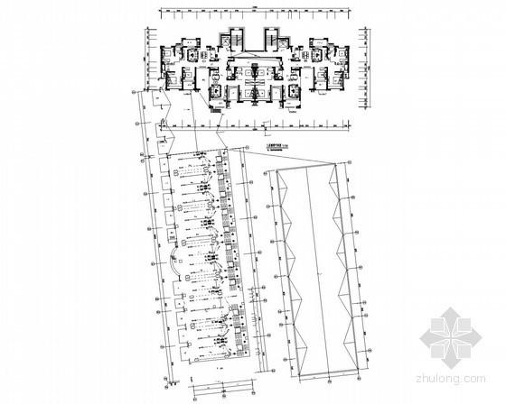 [山东]一类高层商住楼强弱电施工图200张(多栋商住住宅楼 甲级设计院)