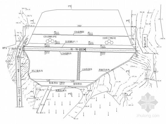 [四川]水库除险加固工程初步设计施工图24张