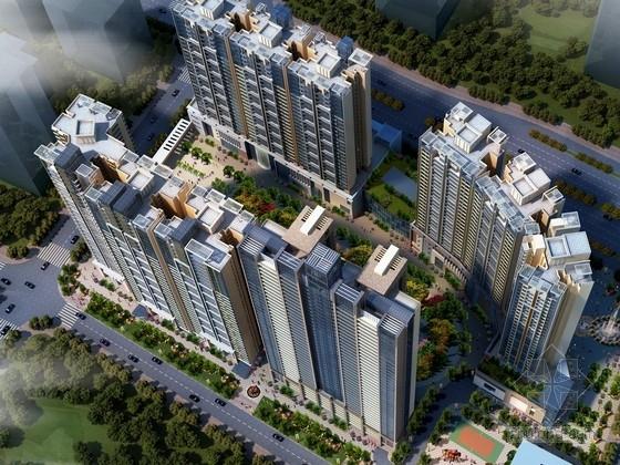 [广东]现代风格住宅区规划及单体方案文本