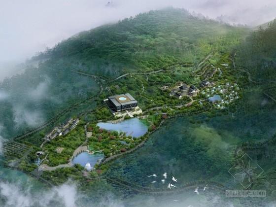 [江苏]新中式风格宗教演艺中心规划及建筑单体设计方案文本(知名设计院)