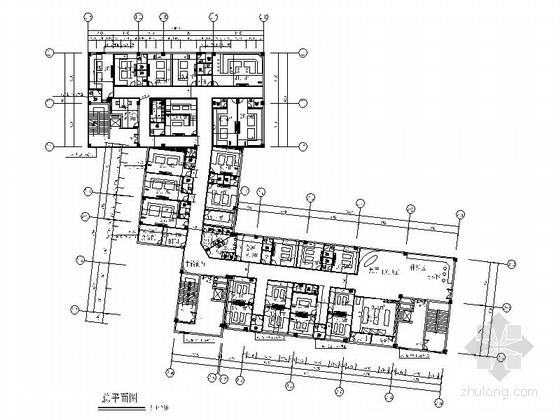 [厦门]高档量贩式KTV室内装修施工图(含效果)