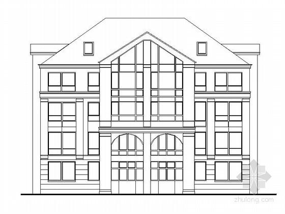 [长春]某四层花园洋房建筑扩初图(12.14.16.18号楼)