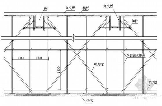 [海南]框剪酒店模板工程施工方案(早拆模板支撑体系)