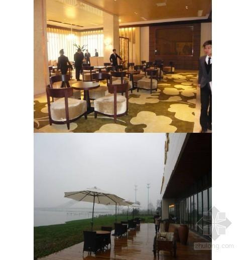 某花园沿江展示区销售大厅及高层样板房实景照