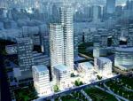 上海保利广场超限高层办公楼框架-双核心筒结构设计