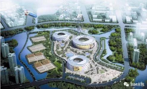BIM技术在天津团泊湖网球中心双曲面建筑中的应用