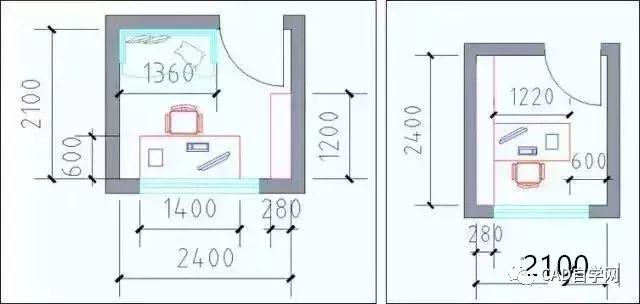 设计师终极福利!所有户型室内设计尺寸图解分析,建议永久收藏!_22