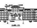多层新中式风格学校全套建筑图