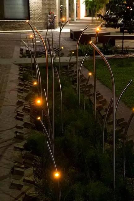 景观灯光设计。当灯光碰上景观,浪漫的夜晚就开始了!_37