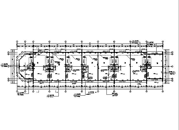 [辽宁]18栋商贸楼建筑施工图(含机电——结构图纸)_4