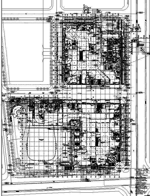 [浙江]地下一层停车场建筑施工图(出图图纸)_2