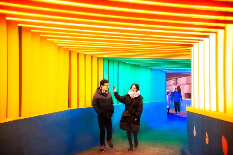 上海金地格林世界社区彩虹通道-009-rainbow-channel-in-jindi-green-world-community-china-by-antao-aha-group
