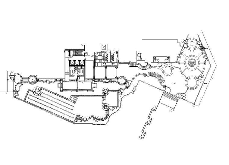 [上海]万科金色家园居住区全套景观设计施工图