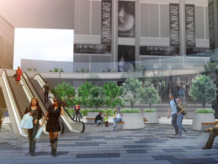 [重庆]万科西九商业广场景观方案设计(PDF+68页)