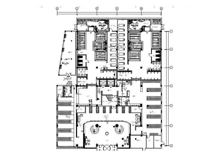 [青岛]高档温泉SPA休闲室内装修设计施工图(含效果图)