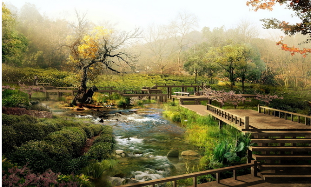 超越想象的园林景观设计