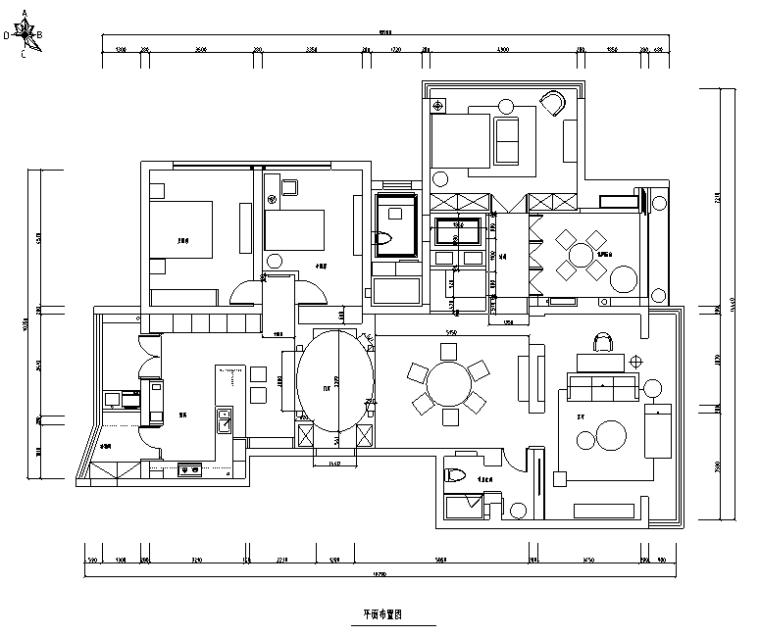 面朝大海春暖花开|景江城市花园住宅设计施工图(附效果图)