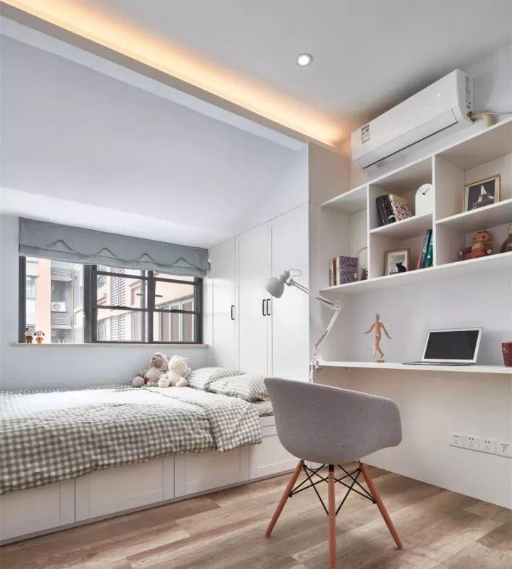 榻榻米床+柜子如何组合设计?35个案例告诉你..._4
