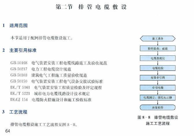 南方电网工程施工工艺控制规范(配网工程部分)