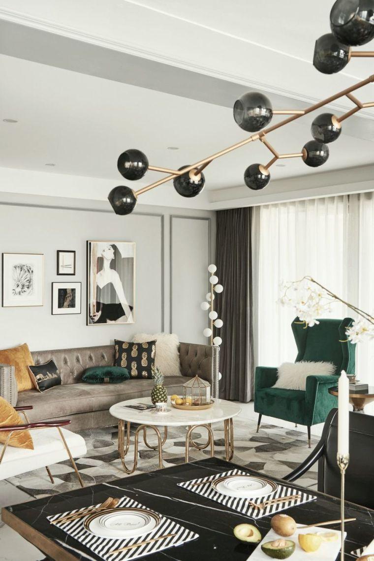 低调奢华的西式美学风尚家装设计,让每天都过得优雅至极!