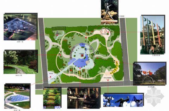 北京文化居住区景观规划方案(二)-4