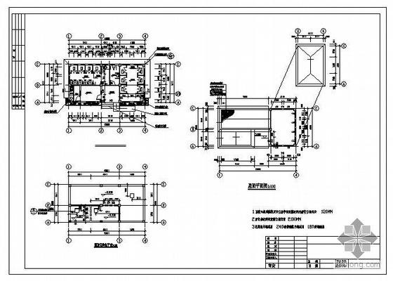 某公共厕所建筑和结构施工图