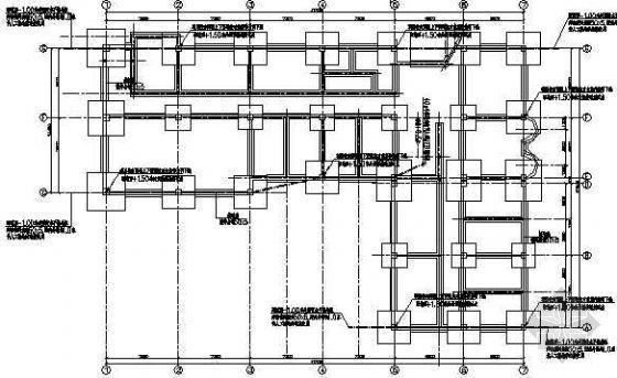 办公楼等电位接地平面图