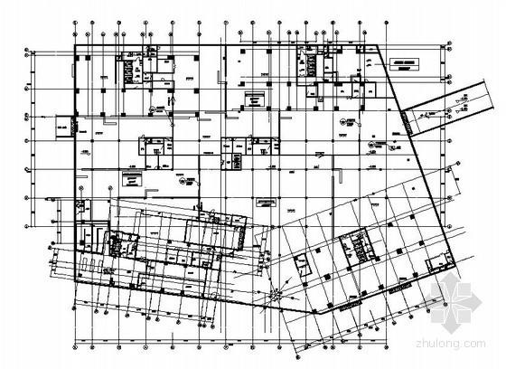 [湖南]广场人防地下室通风设计施工图