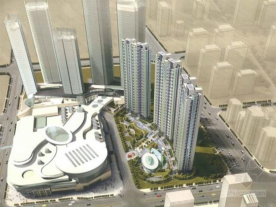 [浙江]商业住宅区规划及单体设计方案文本