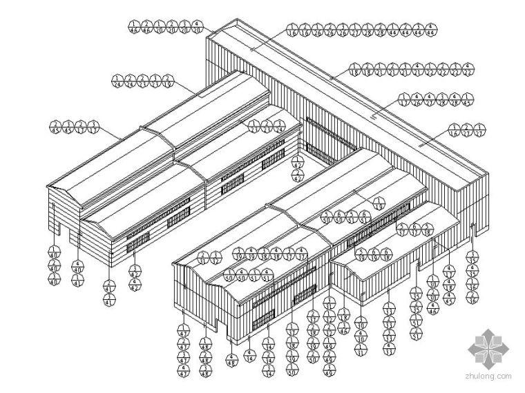 [图集]金属绝热夹芯板-屋面与墙面建筑构造合集