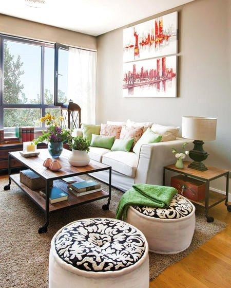 时尚又吸睛的五个舒适的客厅沙发摆放效果图欣赏