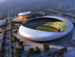 体育馆鸟瞰建筑3D模型下载