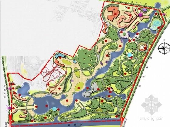 [江苏]古城山水神韵动物园景观规划设计方案
