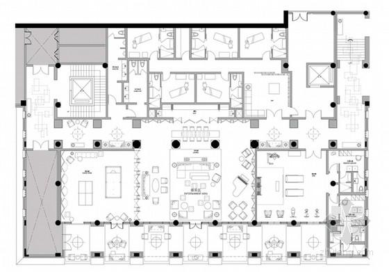 [广东]养生商务高端别墅式会馆室内设计方案