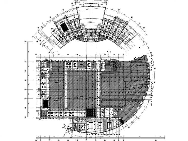 [盐城]某大学图书馆给排水设计施工图