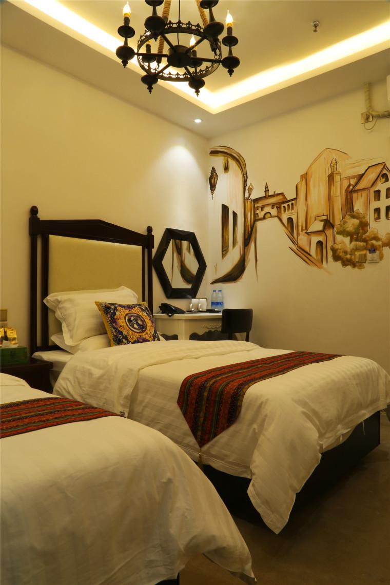 震撼眼球的沈阳香宿主题宾馆设计实景照片新鲜出炉!